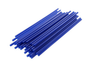 Speichen Cover 21.5 cm blau
