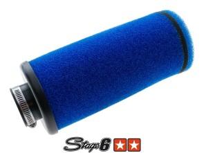 Luftfilter Schaumstoff blau Stage6 (l=20 cm)