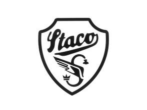 Staco Kleber schwarz (54x60) mittel