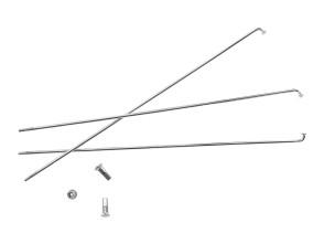 Speiche einzeln Ø2.9 x 215,220,227,250,255,260 mm (inkl. Nippel)