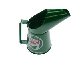 Benzineinfüllbehälter Blech Castrol 0.5 l