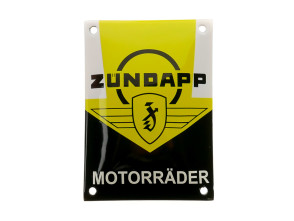 Zündapp Motorräder Schild Emaille 10 x 14 cm