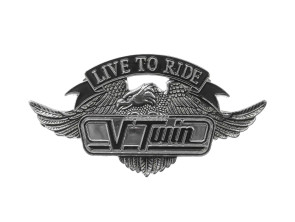 Emblem V-Twin gross (Klebefolie)