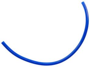 Benzinschlauch 30 cm blau