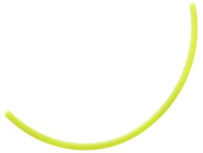 Benzinschlauch 30 cm gelb