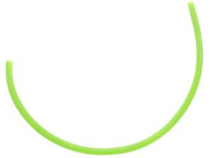 Benzinschlauch 30 cm grün