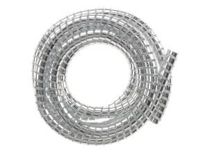 Kabeleinfassung Ø 10.2 mm Chrom 1.5 m