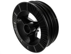 Kabelhülle Ø 5 mm schwarz (100 Meter Rolle) Metall-Innenhülle