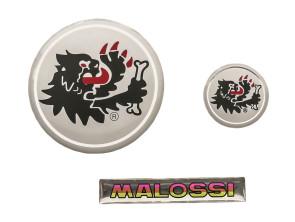 """Klebersatz """"Malossi"""" 3D Silikon, 3 Stk."""