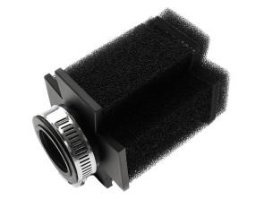 Luftfilter Iron Cross Schaum schwarz gerade Ø 28/35 mm