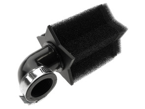 Luftfilter Star Schaum schwarz 90° Ø 28/35 mm