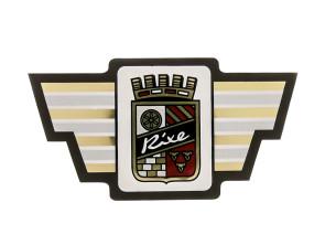Rixe Aufkleber Wappen Steuerrohr (1A-Qualität)