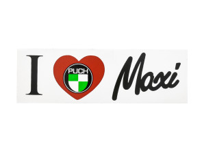I love Maxi Aufkleber