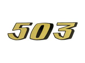 503 Aufkleber Sachs Pony Tank