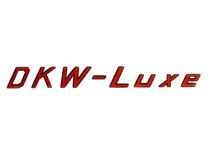 DKW-Luxe Aufkleber Sachs Tank