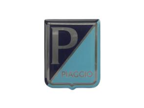 Piaggio Aufkleber 3D Silikon 49 x 39 mm