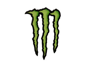 Monster Aufkleber 3D Silikon 11 x 7 cm