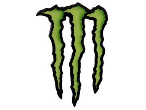 Monster Aufkleber 3D Silikon 17 x 11 cm