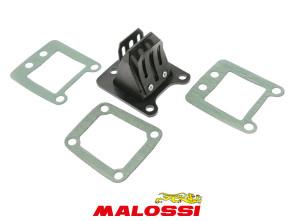 4-Klappmembran-Einsatz Carbon Malossi Puch / Peugeot 103 / 104 / 105