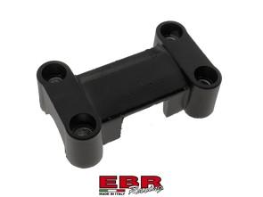 Klemmbrücke massiv EBR schwarz
