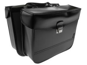 Gepäcktasche eckig Leder