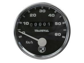 Tacho Transval Ø60 mm bis 60 km/h