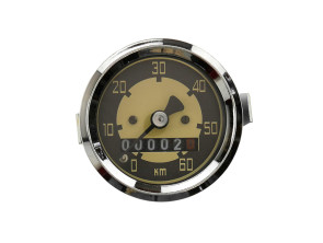 Tacho 60 km/h Ø48 mm VDO Ausführung