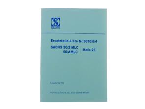 Ersatzteil-Liste Sachs 50/2 MLC, 50/AMLC Motoren