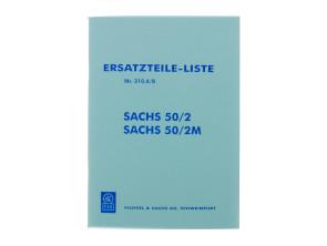 Ersatzteil-Liste Sachs 50/2, 50/2M Motor