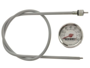 Set Tachometer Veglia Ø48 mm Piaggio