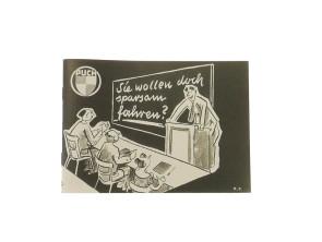 Puch - sparsam fahren (Literatur)