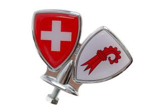 Schutzblech-Emblem Basel-Land