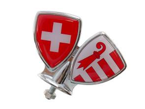Schutzblech-Emblem Jura