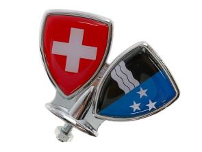 Schutzblech-Emblem Aargau