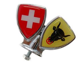 Schutzblech-Emblem Uri