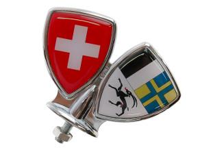 Schutzblech-Emblem Graubünden