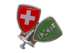 Schutzblech-Emblem St. Gallen