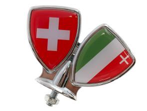 Schutzblech-Emblem Neuenburg