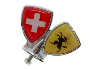 Schutzblech-Emblem Schaffhausen