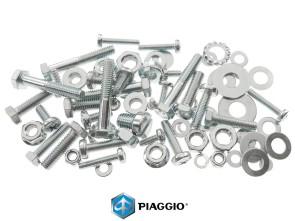 Set Schrauben Motor / Getriebe Piaggio verzinkt