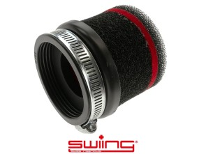 swiing Luftfilter Schaumstoff schwarz gerade (Ø=65 mm)