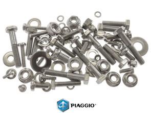 Set Schrauben Motor / Getriebe Piaggio Inox