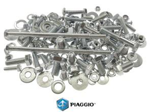 Set Schrauben Rahmen Piaggio Ciao verzinkt