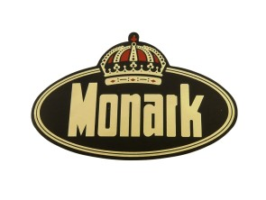 Monark Aufkleber 88x56 mm