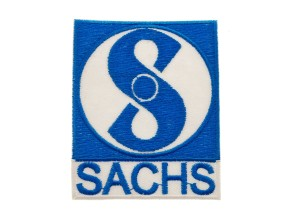 Aufnäher Sachs 61x75 mm