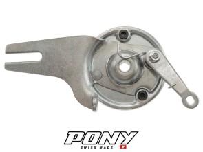 Bremsankerplatte komplett Hinterrad Pony GTX Beta 521 (P2940)