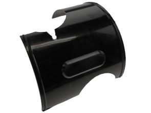 Mittelstück (Ersatz Scheinwerfergehäuse) Solex 5000 schwarz