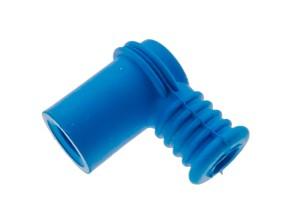 Stecker Zündkerze Gummi blau (nicht entstört)