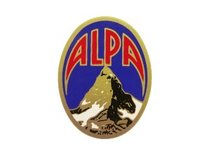 Aufkleber Alpa 38x50 mm NOS