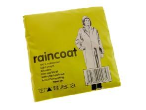 Regenüberzug transparent mit Kapuze